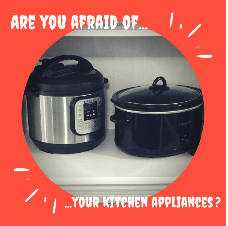 Are you afraid of your kitchen appliances?