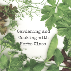 Gardening & Cooking With Herbs logo