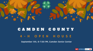 Cover photo for Camden County 4-H Open House!