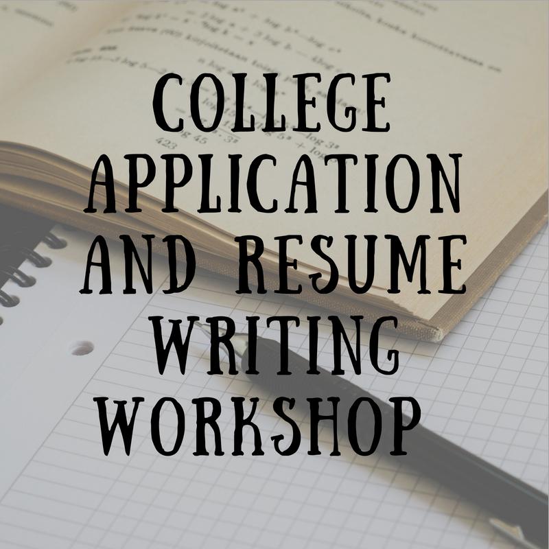 Writing Workshop flyer image