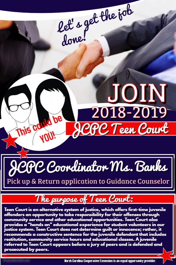 Teen Court flyer image