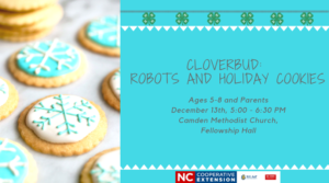 Cover photo for Cloverbud:  Robots & Cookies