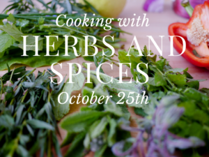 Cooking with Herbs and Spices logo image