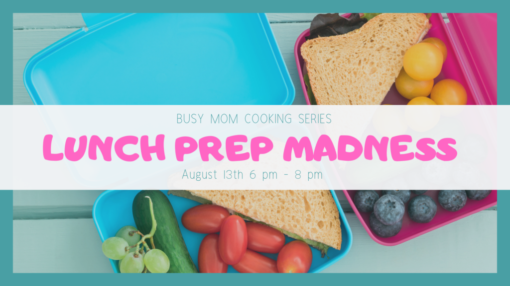 Lunch Prep Madness poster