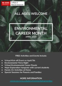 Environmental Career Month Flier-2