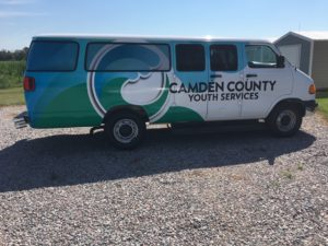 Cover photo for Check Out Our New Camden County Youth Services Van