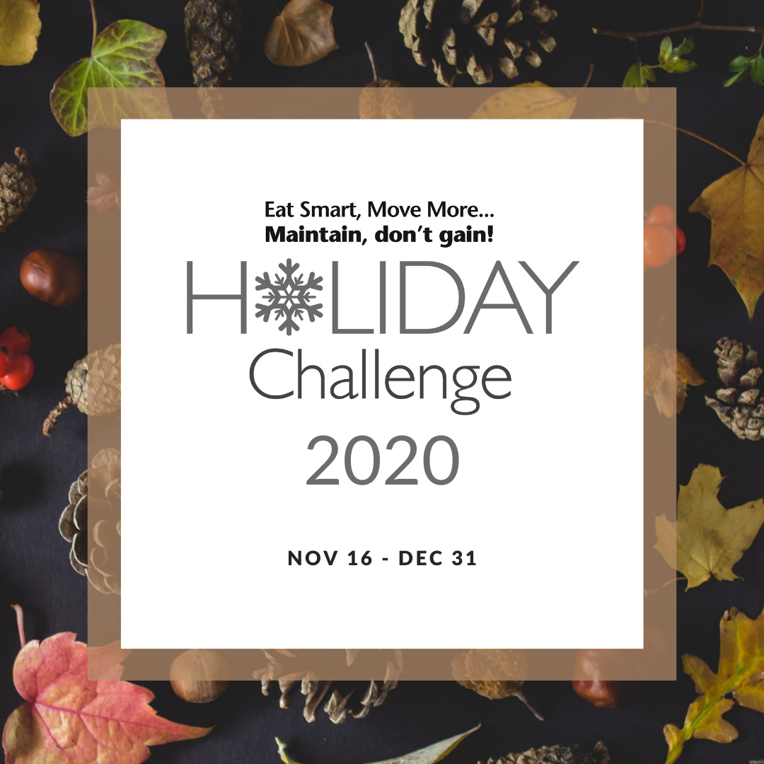 Holiday challenge header