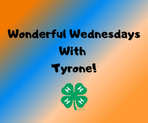 Cover photo for Wonderful Wednesdays With Tyrone