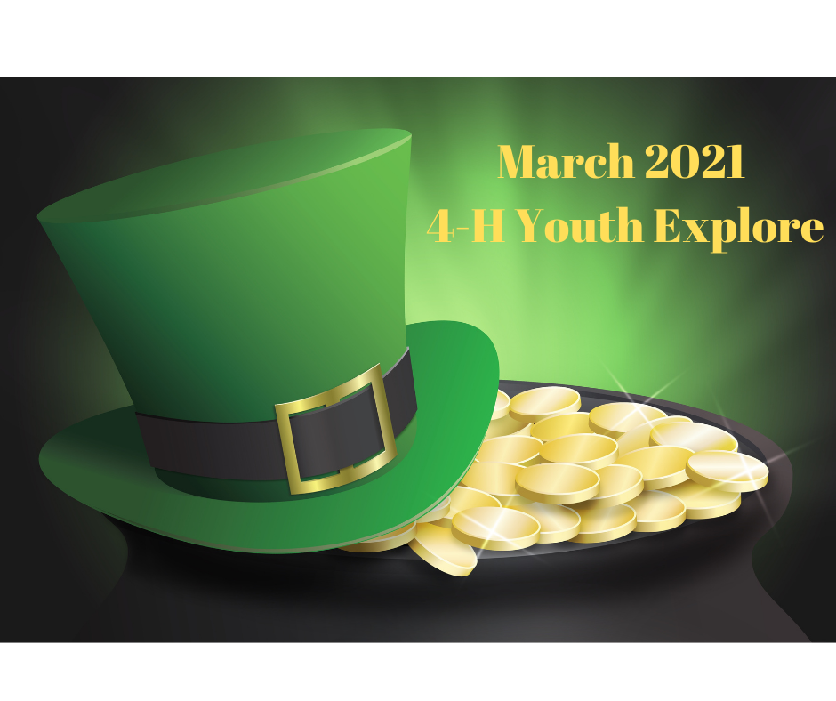 Green top hat and gold coins
