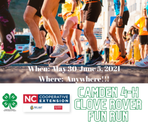 Cover photo for Camden County 4-H Clover Rover Fun Run