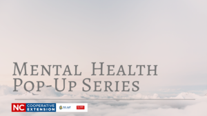 Cover photo for Mental Health Pop-Up Series