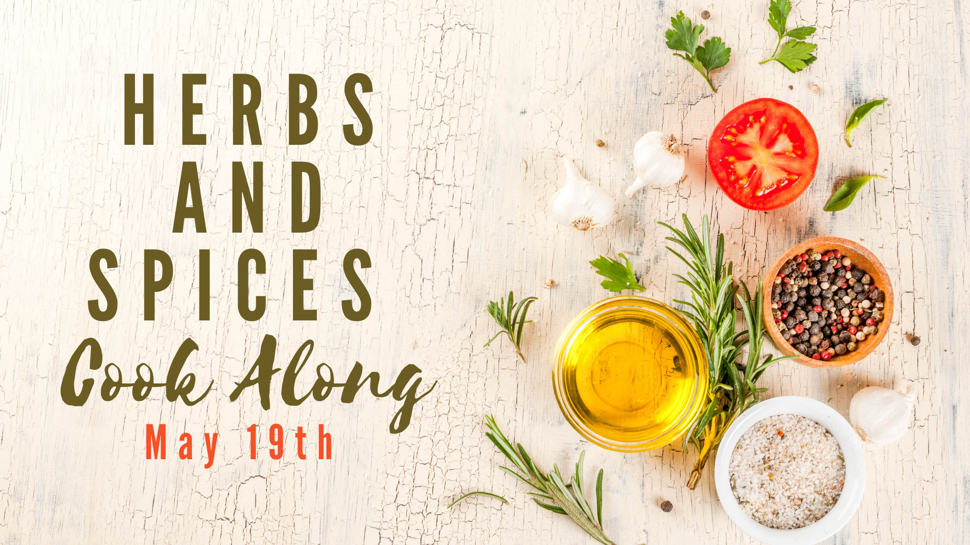 Herb and Spices flyer image