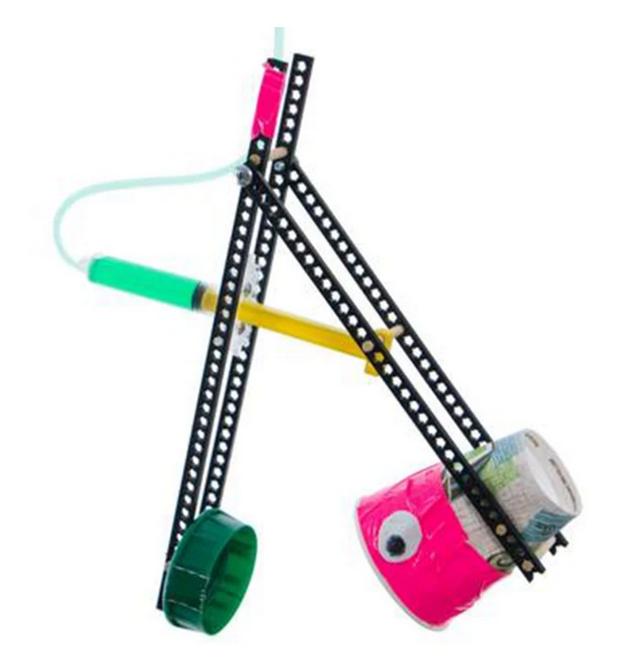 Hand-built contraption